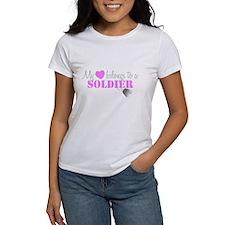 My 3 belongs to a Soldier T-Shirt