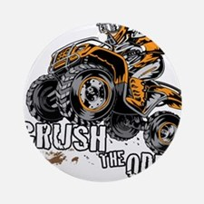 ATV Quad Crush Ornament (Round)