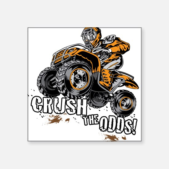 ATV Quad Crush Sticker