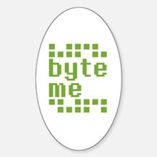 Byte Me Decal