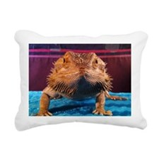 Bearded Dragon Rectangular Canvas Pillow