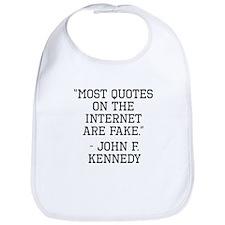 John F. Kennedy Internet Quote Bib