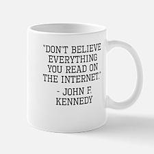 John F. Kennedy Internet Quote Mugs