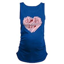 Due in June Heart Maternity Tank Top
