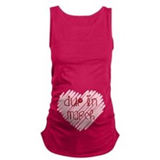 Due in March Heart Maternity Tank Top