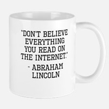 Abraham Lincoln Internet Quote Mugs