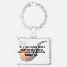 It is an old maxim... Landscape Keychain