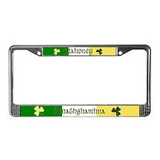 Mahoney (In Gaelic & English) License Plate Frame
