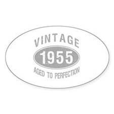 Vintage 1955 Birthday Decal