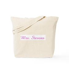 Mrs. Stevens Tote Bag