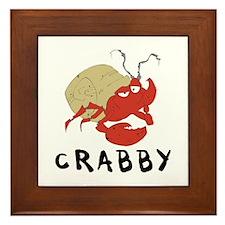 Crabby Framed Tile