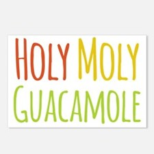 Holy Moly Guacamole Postcards (Package of 8)