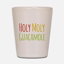 Holy Moly Guacamole Shot Glass