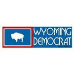 Wyoming Democrat Bumpersticker