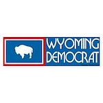 Wyoming Democrat Bumpersticker