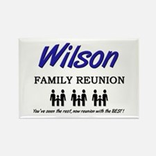 Wilson Family Reunion Rectangle Magnet