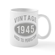 Vintage 1945 Birthday Small Mug