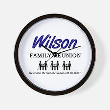Wilson Family Reunion Wall Clock
