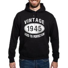 Vintage 1945 Birthday Hoodie
