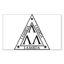 LAMBDA FRATERNITY Decal