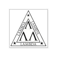 LAMBDA FRATERNITY Sticker