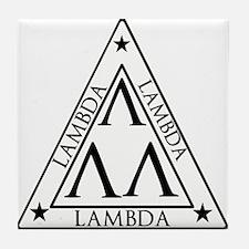 LAMBDA FRATERNITY Tile Coaster