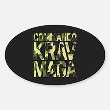 Commando Krav Maga - Green Camouflage Decal