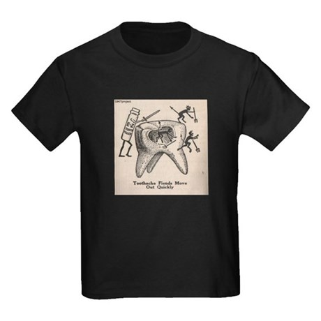 Tooth Decay Fiends Kids Dark T-Shirt