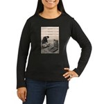 Suffocation Device Women's Long Sleeve Dark T