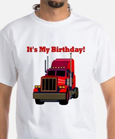 Semi Truck Birthday Shirt