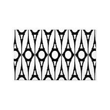 Modern Eiffel Pattern Area Rug
