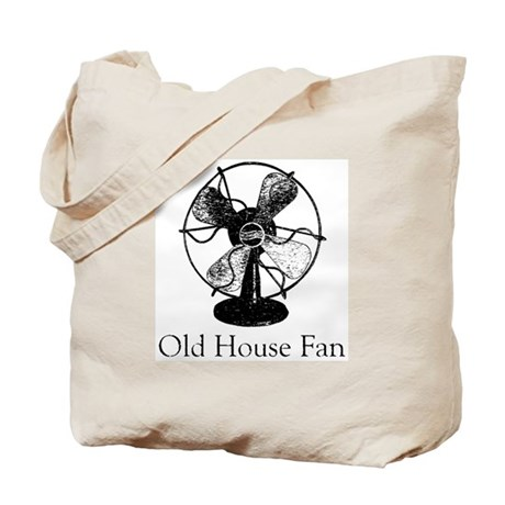 Old House Fan Tote Bag
