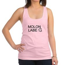 molon labe Racerback Tank Top