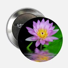 """Water Lily 2.25"""" Button"""