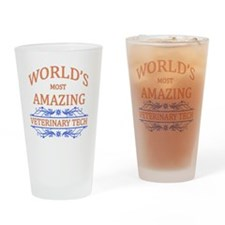 Veterinary Tech Drinking Glass