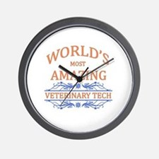 Veterinary Tech Wall Clock