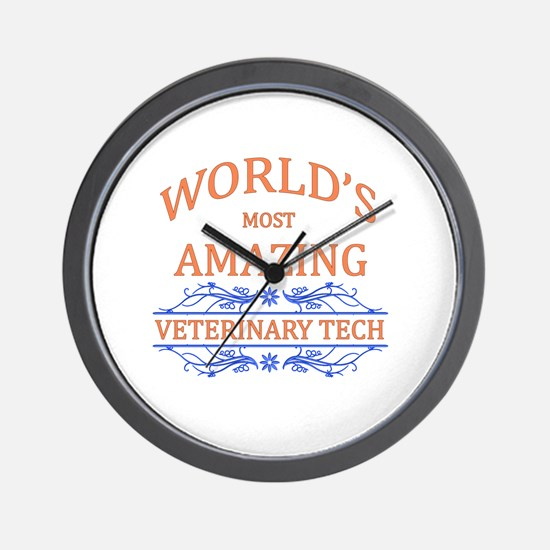 Veterinary Tech Wall Clock