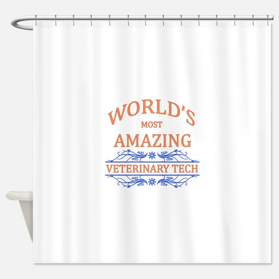 Veterinary Tech Shower Curtain
