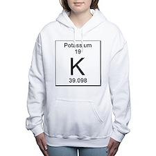 19. Potassium Women's Hooded Sweatshirt