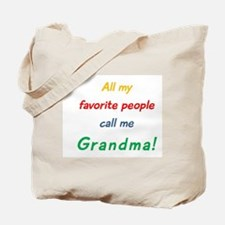 Funny All my grandkids have paws Tote Bag