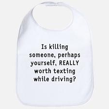 Texting while driving - Bib