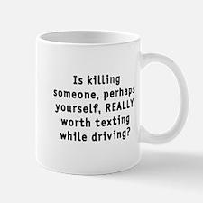 Texting while driving - Mug
