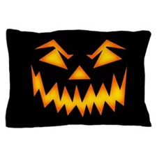 Scary Pumpkin Face RP Pillow Case