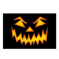 Scary Pumpkin Face RP Postcards (Package of 8)