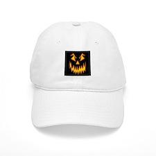 Scary Pumpkin Face W Baseball Baseball Cap