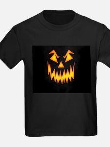 Scary Pumpkin Face K T-Shirt