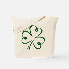 Shamrock clover Tote Bag