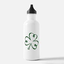 Shamrock clover Water Bottle