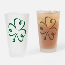 Shamrock clover Drinking Glass
