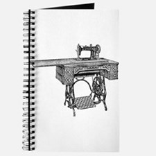 vintage sewing machine Journal